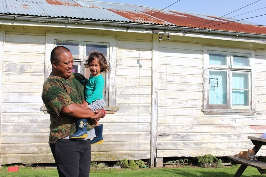 ​Old house, new memories for Waitetuna whanau