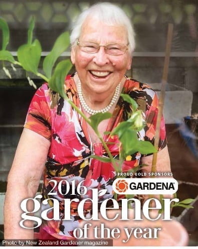 Volunteer raised more than $100,000 by growing plants and is Gardena Gardener of the Year