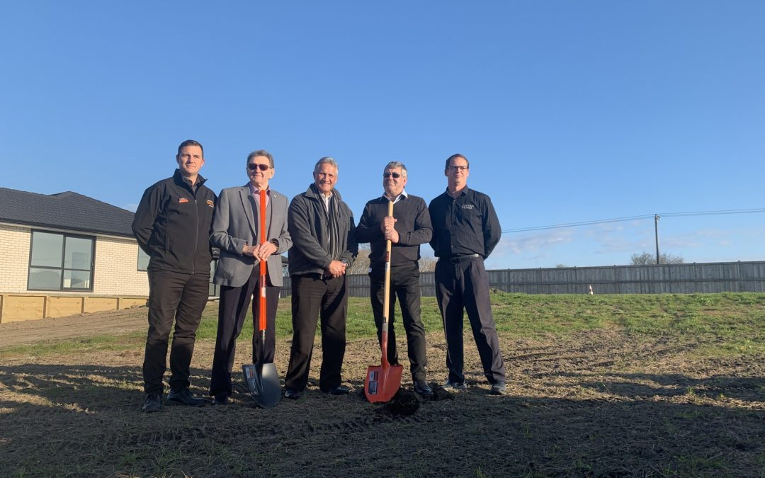 Ground broken on Habitat project in Ngāruawāhia