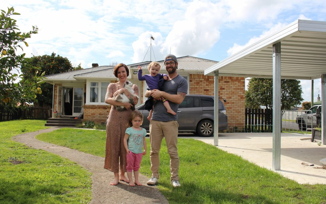 From flatting and mould to proud homeowners
