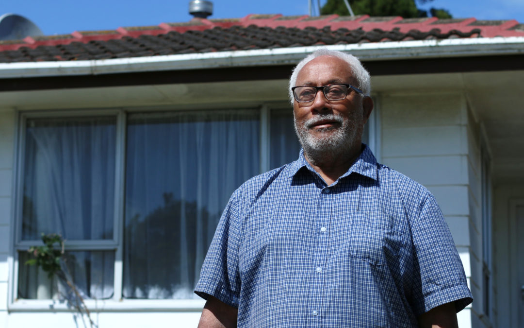 Broken home transformed into safe and warm shelter for 77 year old owner
