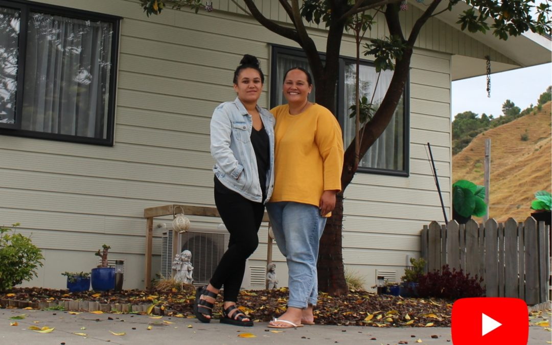 From moving houses to owning a home, Gisborne's single parent journey to home ownership