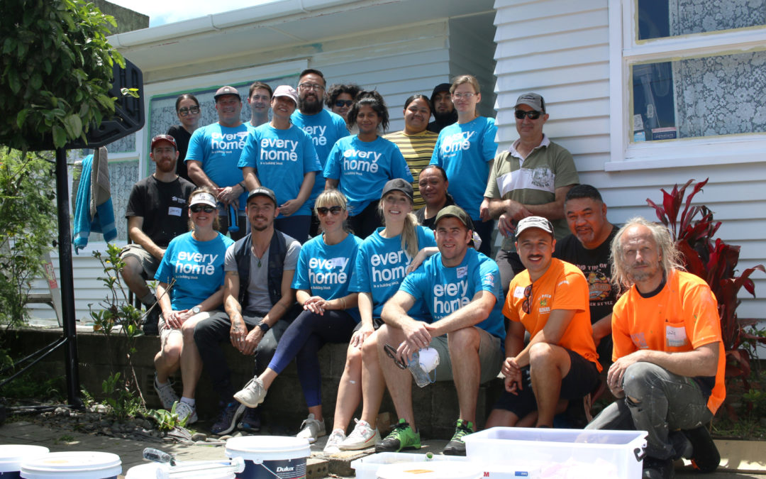 Auckland volunteer group restore home for local Mangere family